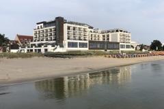 Strand in Scharbeutz vor dem BaySide Hotel