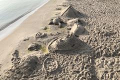Sandburgen in Scharbeutz