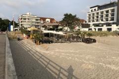 Strand vor dem BaySide Hotel in Scharbeutz