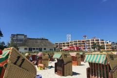 Strandkorb Zeit in Scharbeutz 2018