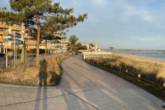Scharbeutz Winter 2020 - Promenade