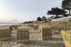 Strand in Scharbeutz Strandkörbe