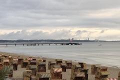 Strand in Scharbeutz Seebrücke