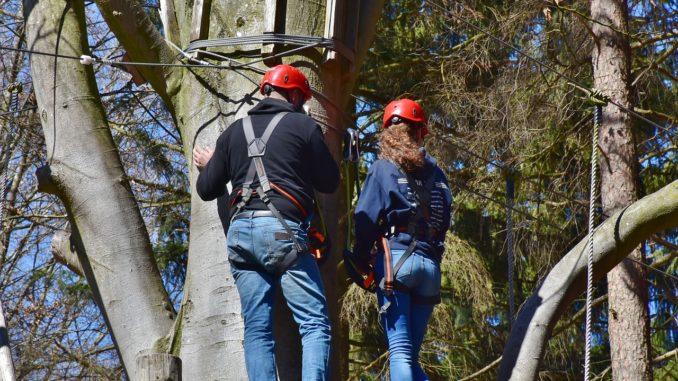 Klettern in Scharbeutz