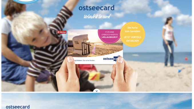 Ostseekarte Scharbeutz