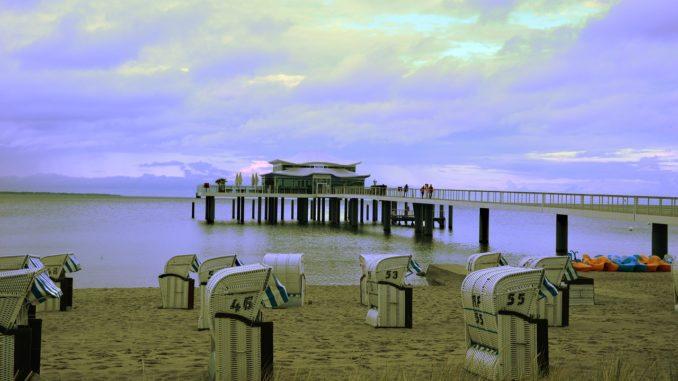 Timmendorfer Strand in der Lübecker Bucht