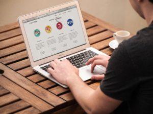 Gestaltung von Webseiten in Scharbeutz