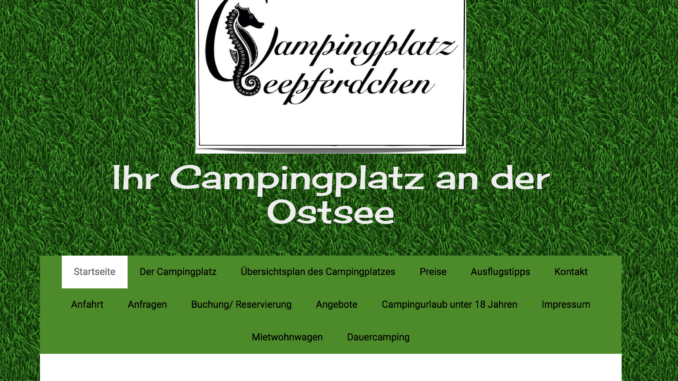 Campingplatz Seepferdchen