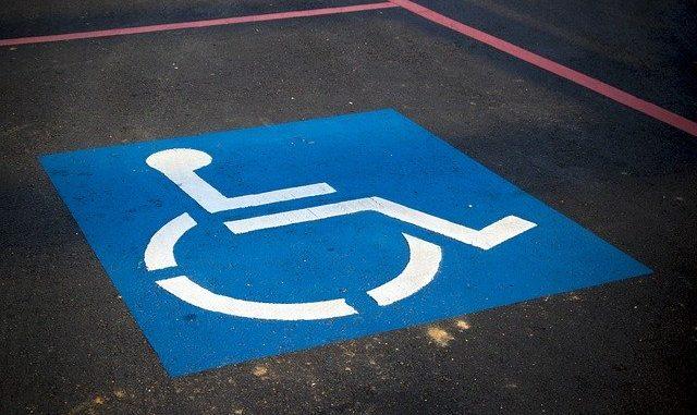 Öffentliche Schwerbehindertenparkplätze in Scharbeutz